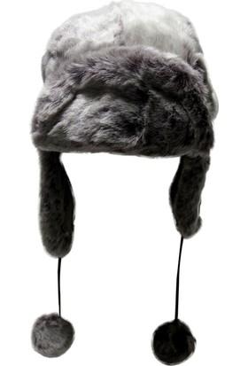 Laslusa Tüylü Pilot Şapka