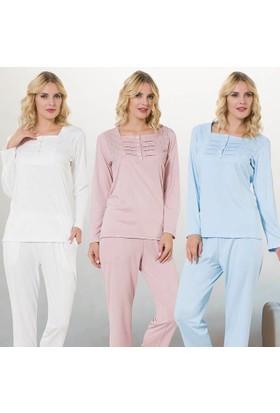 Meyra 699 Uzun Kollu Kadın Pijama Takımı