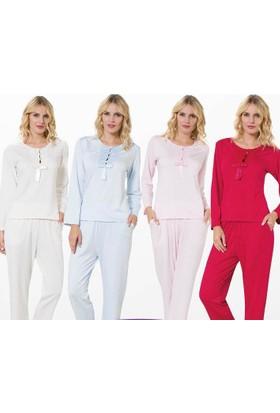 Meyra 700 Uzun Kollu Kadın Pijama Takımı