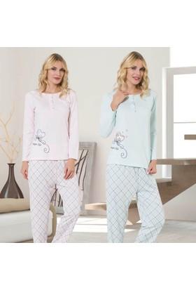 Meyra 701 Uzun Kollu Kadın Pijama Takımı
