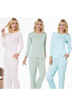 Meyra 703 Uzun Kollu Kadın Pijama Takımı
