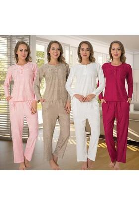 Meyra 2489 Uzun Kollu Kadın Pijama Takımı