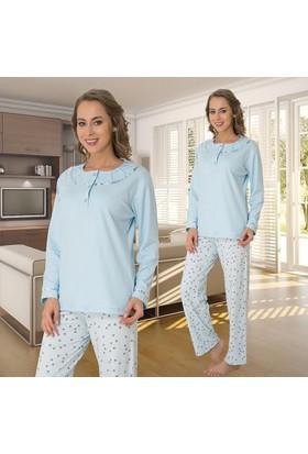 Meyra 2801 Uzun Kollu Kadın Pijama Takımı