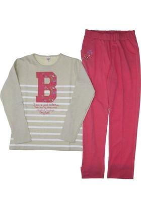Dmb Kız Çocuk Baskılı Pijama Takımı
