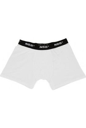 Nbb 735 Modal Erkek Boxer Beyaz