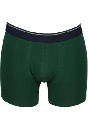 Nbb 735 Modal Erkek Boxer Koyu Yeşil