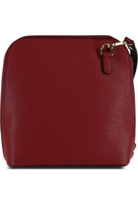 Marjin Miste Günlük Postacı Çanta Kırmızı