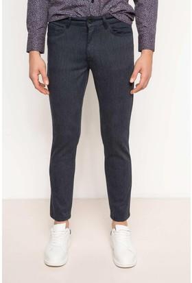 DeFacto Erkek 5 Cep Pantolon Lacivert