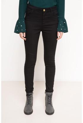 DeFacto Kadın Skinny Pantolon Siyah