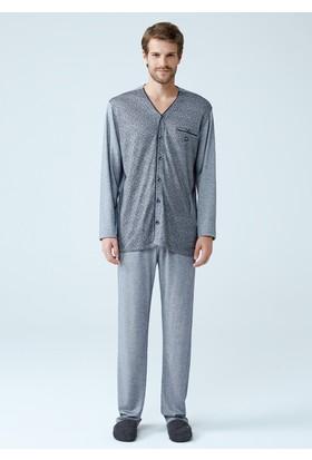 Dagi Erkek Pijama Takımı Gri E0217K0010
