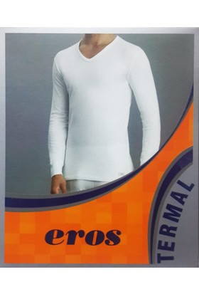 Eros 1458 Termal V Yaka Uzun Kol T-Shirt
