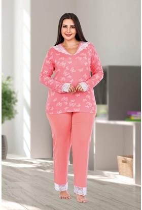 Lady Lingerie Büyük Beden Pijama Takım 123