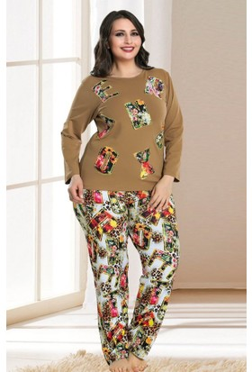 Lady Lingerie Büyük Beden Pijama Takım 108