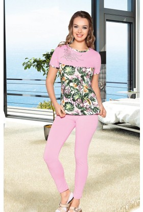 Lady Lingerie 4'lü Gecelik Sabahlık Takım 13290
