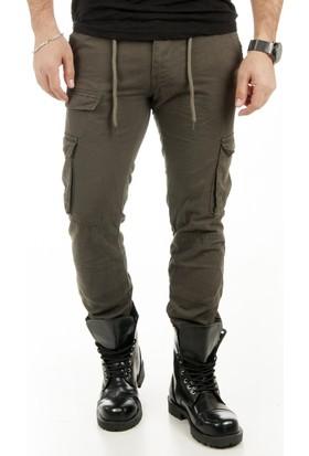 Deepsea Yeşil Kargo Pantolon 1801834