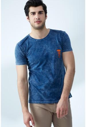 FullaModa Yıkamalı T-Shirt 17Y17SAI0003315