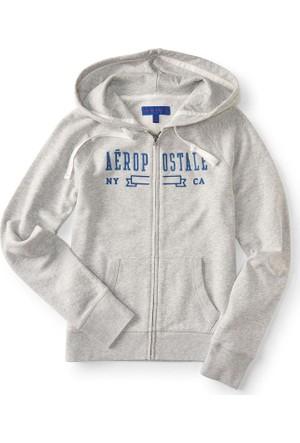 Aeropostale Fermuarlı Sweatshirt