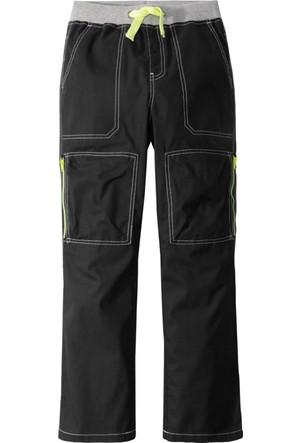 John Baner Jeanswear Erkek Çocuk Siyah Kargo Pantolon