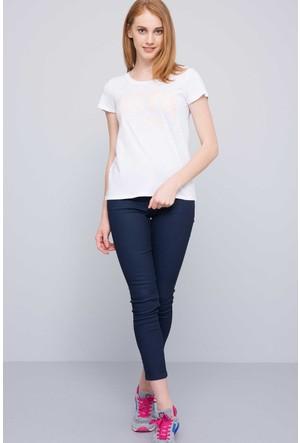 U.S. Polo Assn. Kadın Gean T-Shirt Beyaz