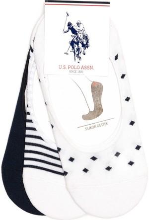 U.S. Polo Assn. Kadın Happy Çorap Lacivert