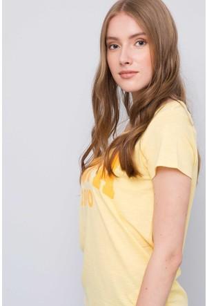 U.S. Polo Assn. Kadın Gean T-Shirt Sarı