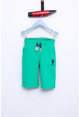 U.S. Polo Assn. Erkek Çocuk Gunderiy7 Şort Yeşil