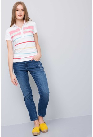 U.S. Polo Assn. Kadın Gandaf T-Shirt Pembe