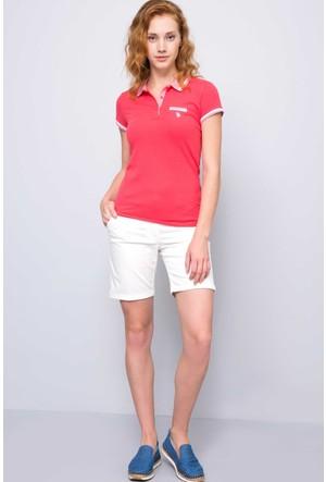 U.S. Polo Assn. Kadın Gloria-Iy07 T-Shirt Pembe