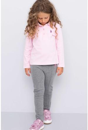 U.S. Polo Assn. Kız Çocuk Sofia Eşofman Gri