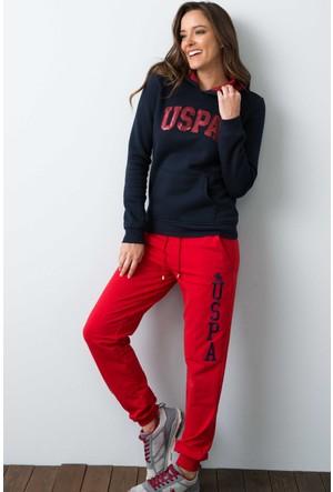 U.S. Polo Assn. Kadın Gizmo-Sk07 Sweatshirt Lacivert