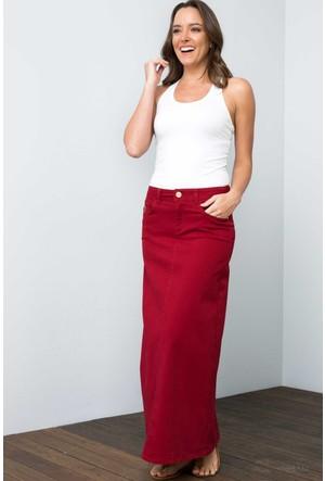 U.S. Polo Assn. Kadın Lisa7S Etek Kırmızı