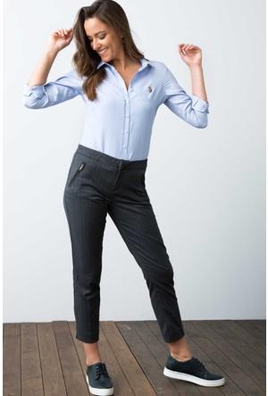 U.S. Polo Assn. Kadın Woxcolor17K Gömlek İndigo