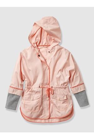 Vertbaudet Kız Çocuk Açık Pembe Yağmurluk