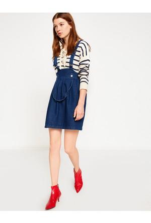 Koton Kadın Mini Elbise Mavi
