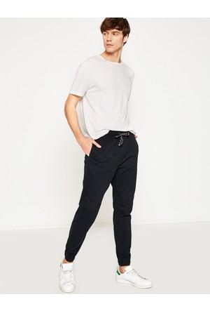 Koton Erkek Beli Bağlamalı Pantolon Lacivert