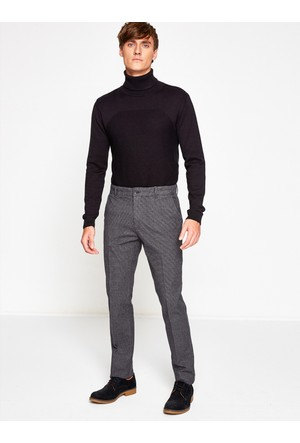Koton Erkek Normal Bel Pantolon Gri