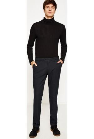 Koton Erkek Normal Bel Pantolon Lacivert