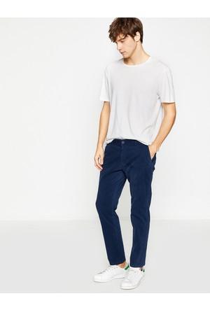 Koton Erkek Normal Kesim Pantolon Lacivert