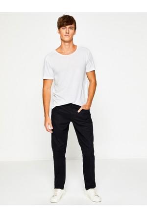Koton Erkek Slim Fit Trousers Siyah