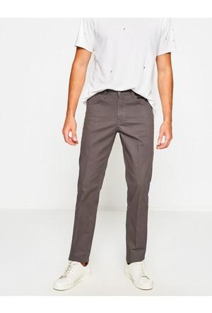 Koton Erkek Slim Fit Trousers Gri