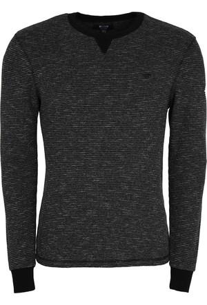 Mustang Erkek Sweatshirt Siyah 04M00101440
