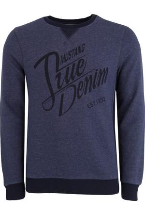 Mustang Erkek Sweatshirt Lacivert 04M00107560