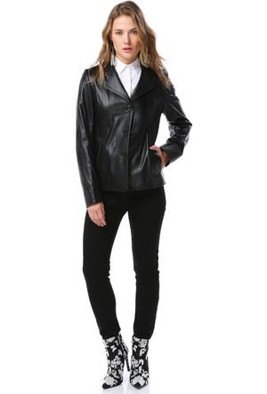 Dericlub Yb-2059 Kadın Deri Ceket
