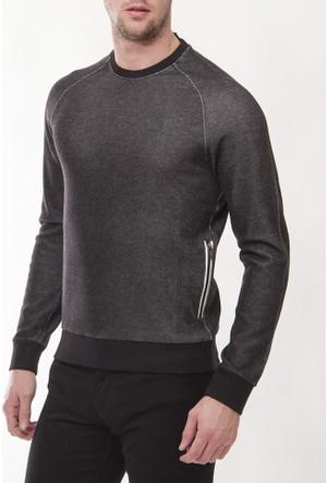 Armani Jeans Ajm11 Erkek Siyah Sweatshirt
