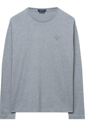 Gant Erkek Gri Uzun Kollu Tshirt 234502.93