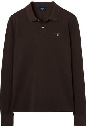 Gant Original Piqué Erkek Kahverengi Polo 5201.205