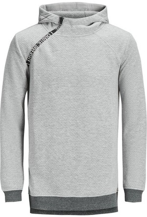 Jack & Jones Sweatshirt Jcokari Hood 12128572-LGM