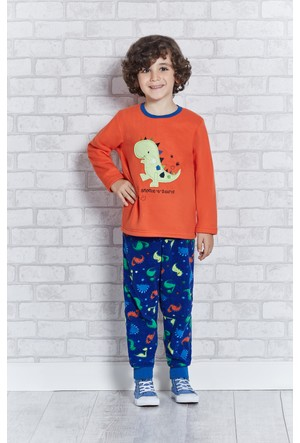 Rolypoly İnterlok Erkek Çocuk Pijama Takımı