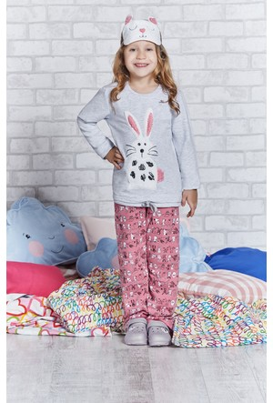 Rolypoly İnterlok Genç Kız Pijama Takımı