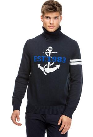 Nautica Lacivert Erkek Triko S73528.4Tn